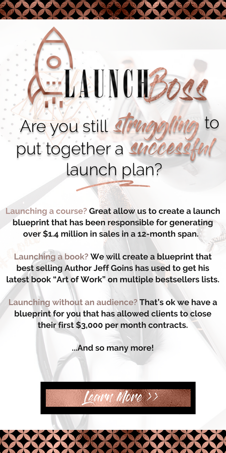 Launch boss business marketing tips pinterest launch boss gives you the confidence in knowing your launch will go off without a hitch how would you like to know exactly what to do malvernweather Images