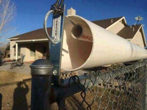 Roller Bar Fence Topper For Escape Artist Dogs Chickens Backyard Roller Bar Cat Fence