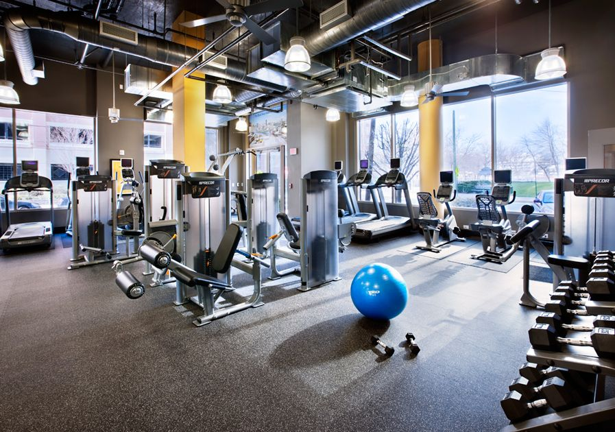 Toll Brothers At 1450 Washington Hoboken Nj Fitness Center Gym Interior Gym Center At Home Gym