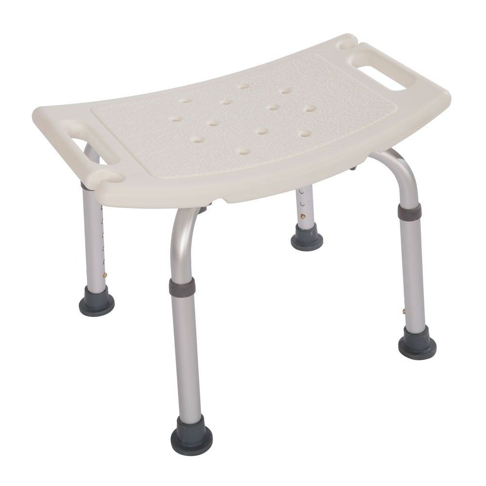 Height Adjustable Aluminum Alloy Old People Shower Chair Bath