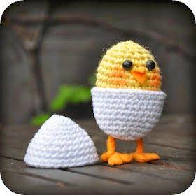 Haakpatronen Voor Pasen Pasen Paaskippen Haken Haakpatroon