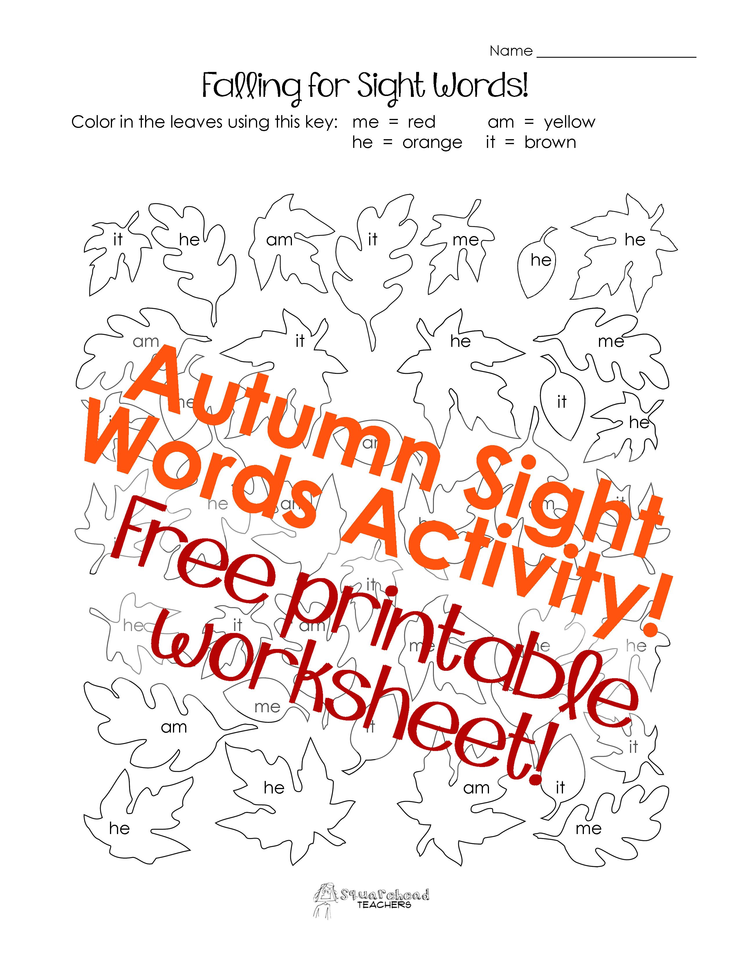 I Haven T Done Much With Sight Words On This Blog So Far