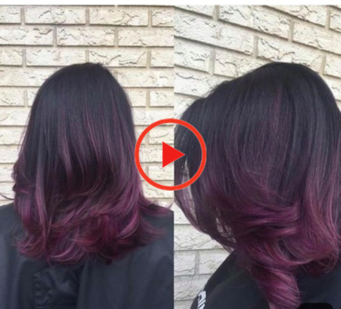 Blackberry Hair Is The New Moody Purple Hair Trend