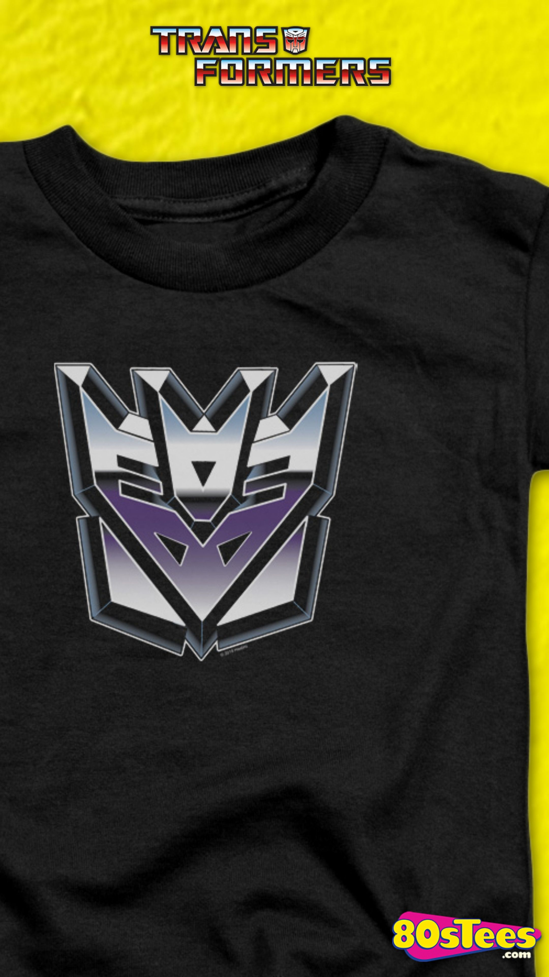 This Transformers T Shirt Shows An Airbrushed Decepticons Logo