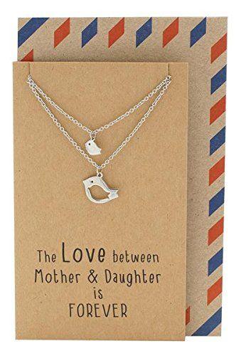 Mother Daughter Necklace Gifts For Mom Bird Set Amazon Dp B018RUDKB0 Refcm Sw R Pi X DgkTybDX257XK