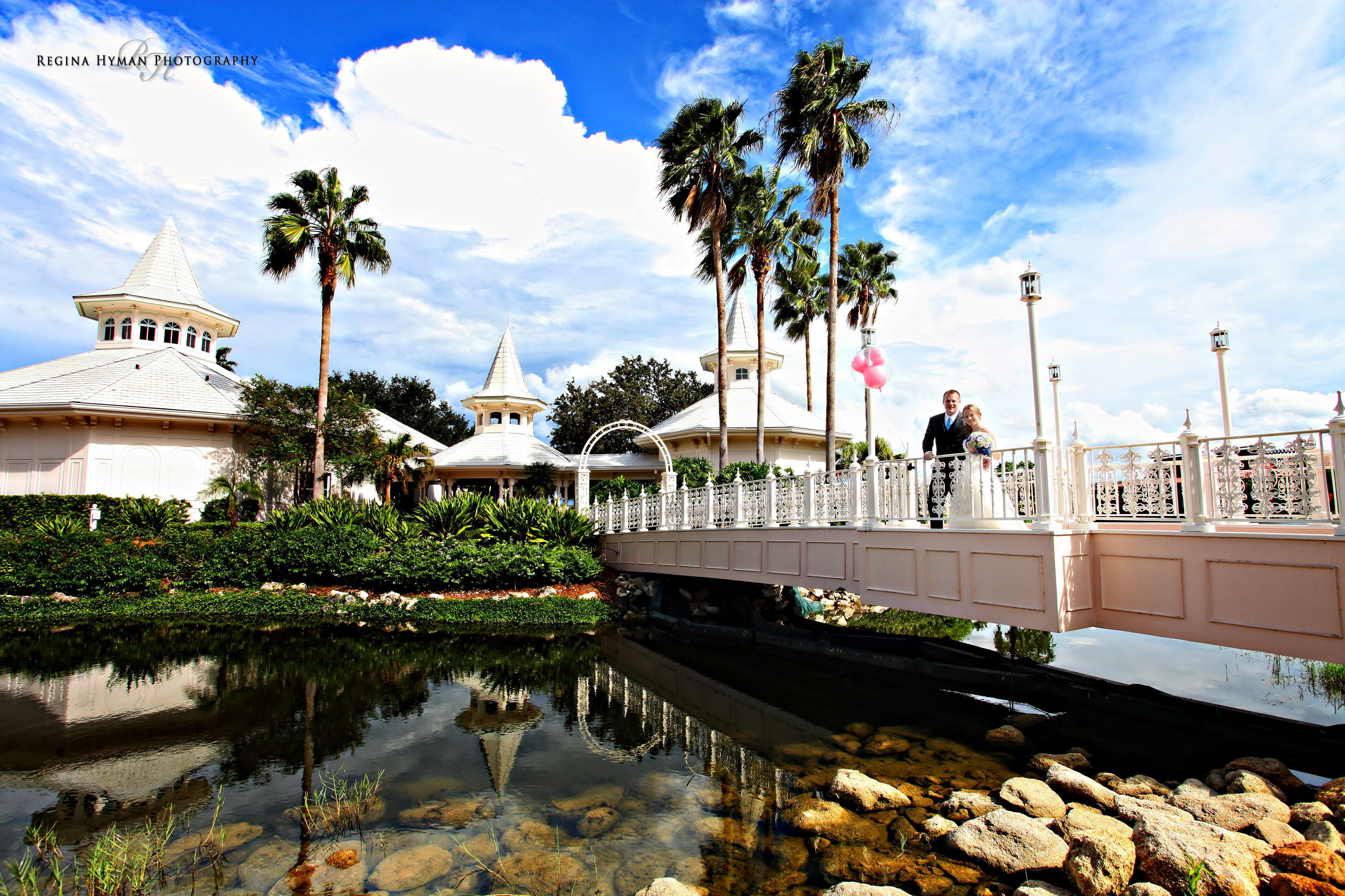 Beautiful Day For A Disney Wedding At The Grand Floridian Chapel World