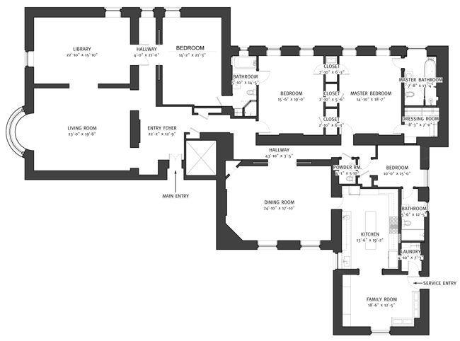 Pin By Terri Lynne Defino On The Dakota Building Nyc Floor Plans Nyc Apartment Dakota