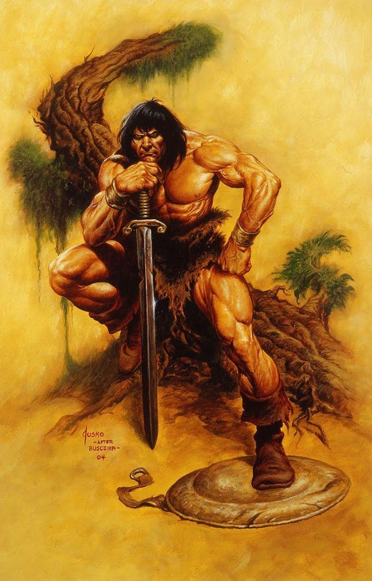 Image Result For Vintage Conan Art Conan The Barbarian Conan Barbarian Art