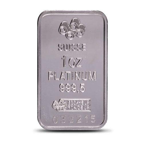 Pamp Suisse Fortuna 1 Oz Platinum Bar Numismatic Coin Collecting Platinum Numismatic Coins