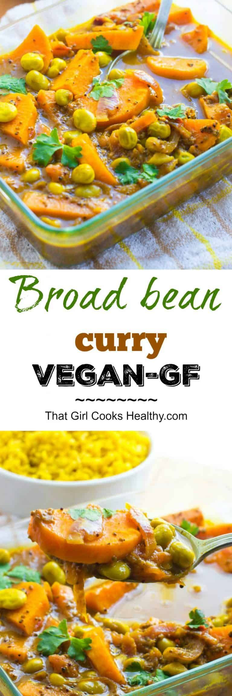 Broad Beans Curry