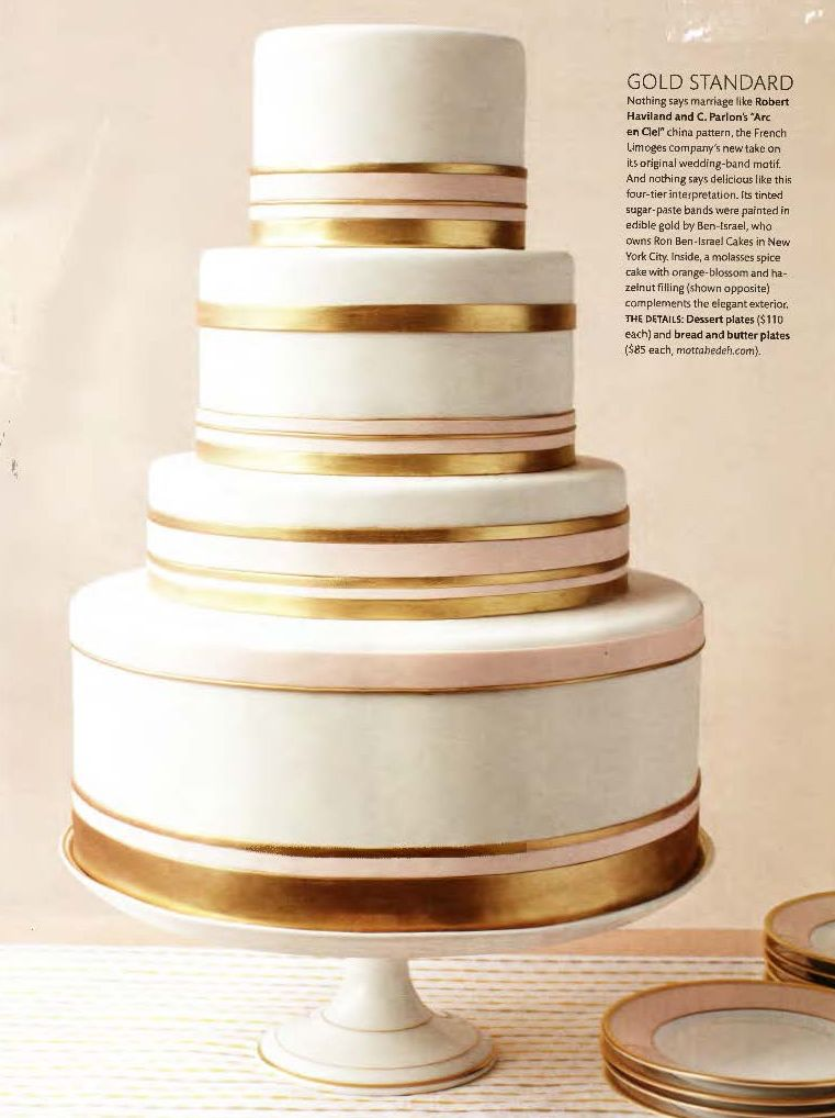 dusty pink and gold wedding cake wedding cake inspiration gold and dusty bands 13793