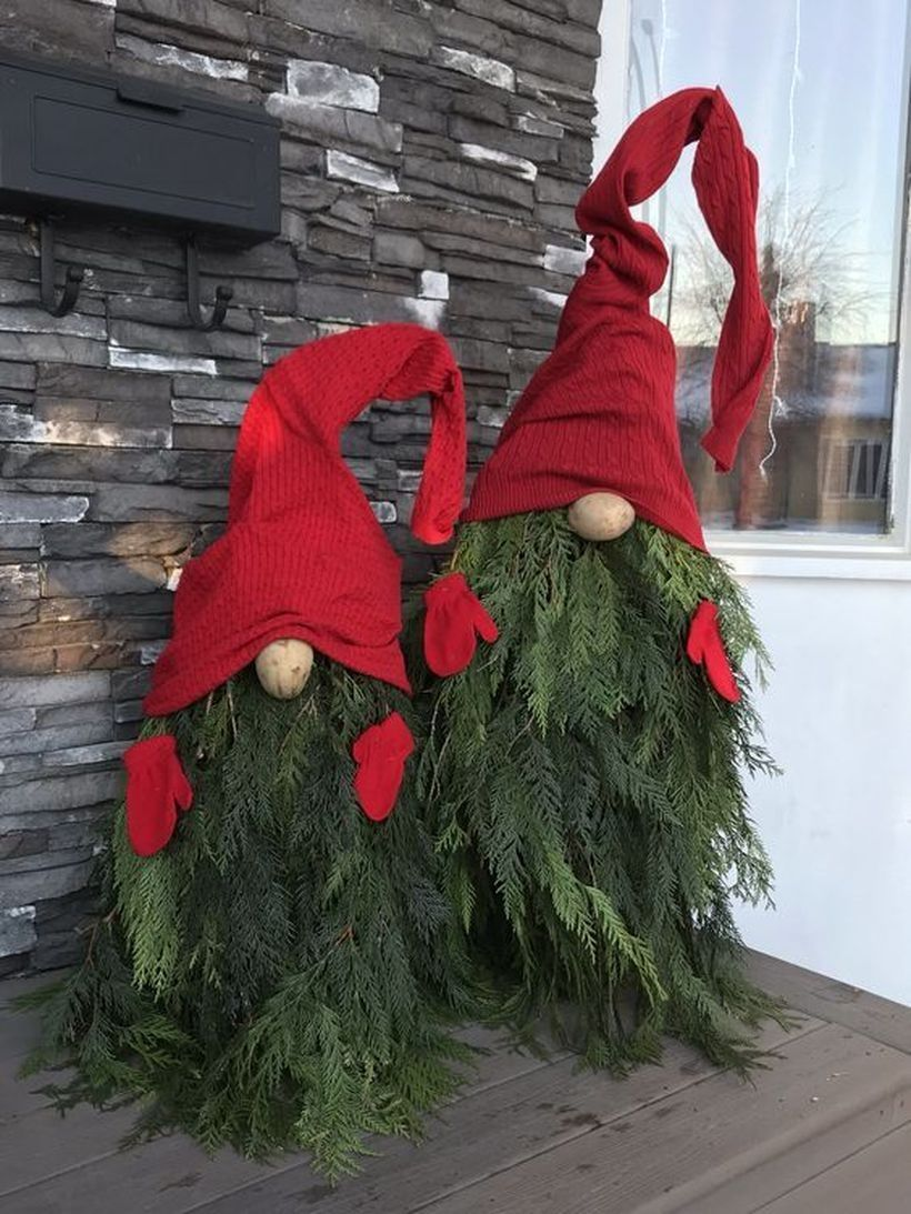 31 Diy Christmas Outdoor Decorations Ideas Blackpinto