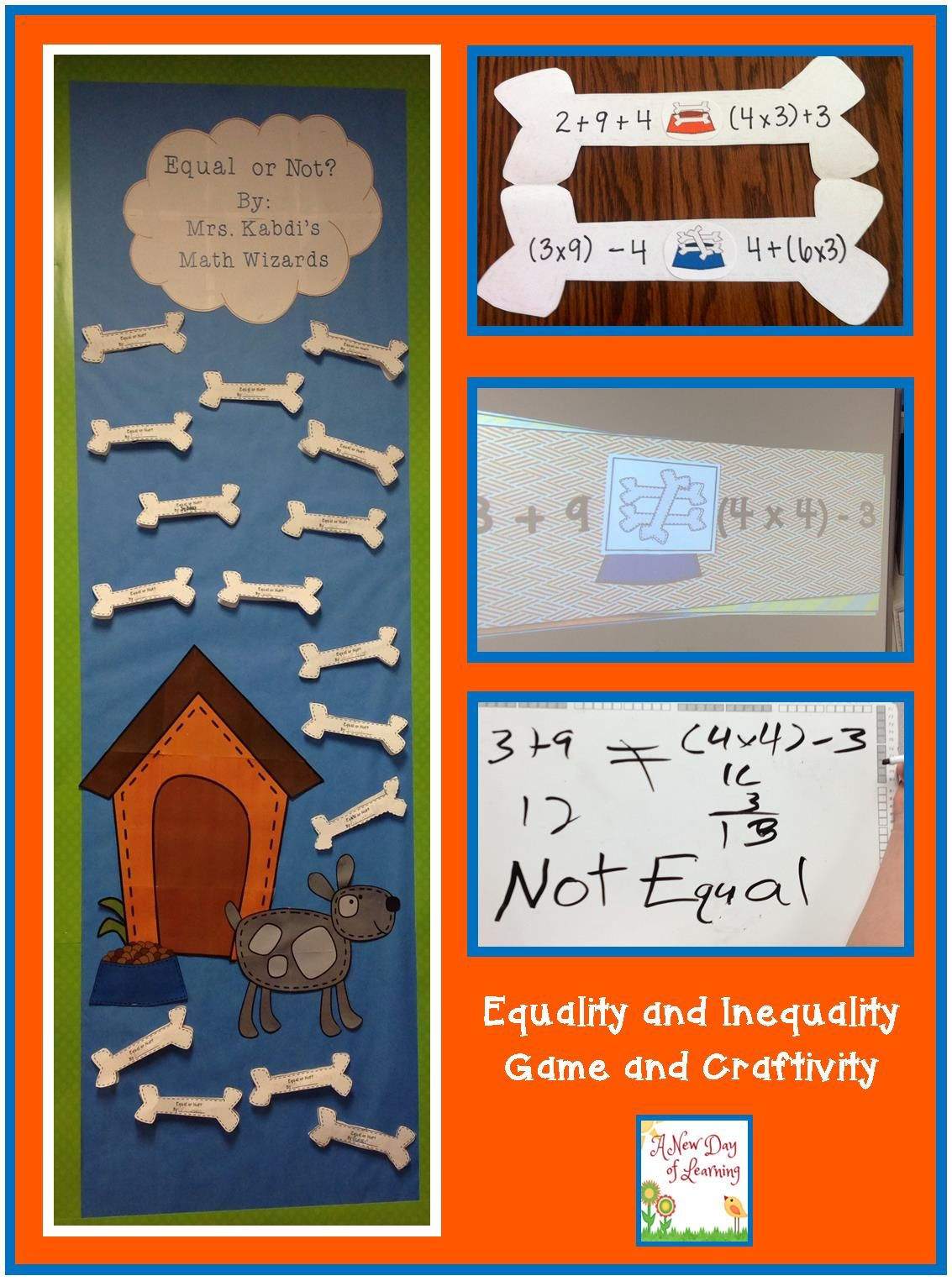 Fun Way To Teach Equalities And Inequalities Game And