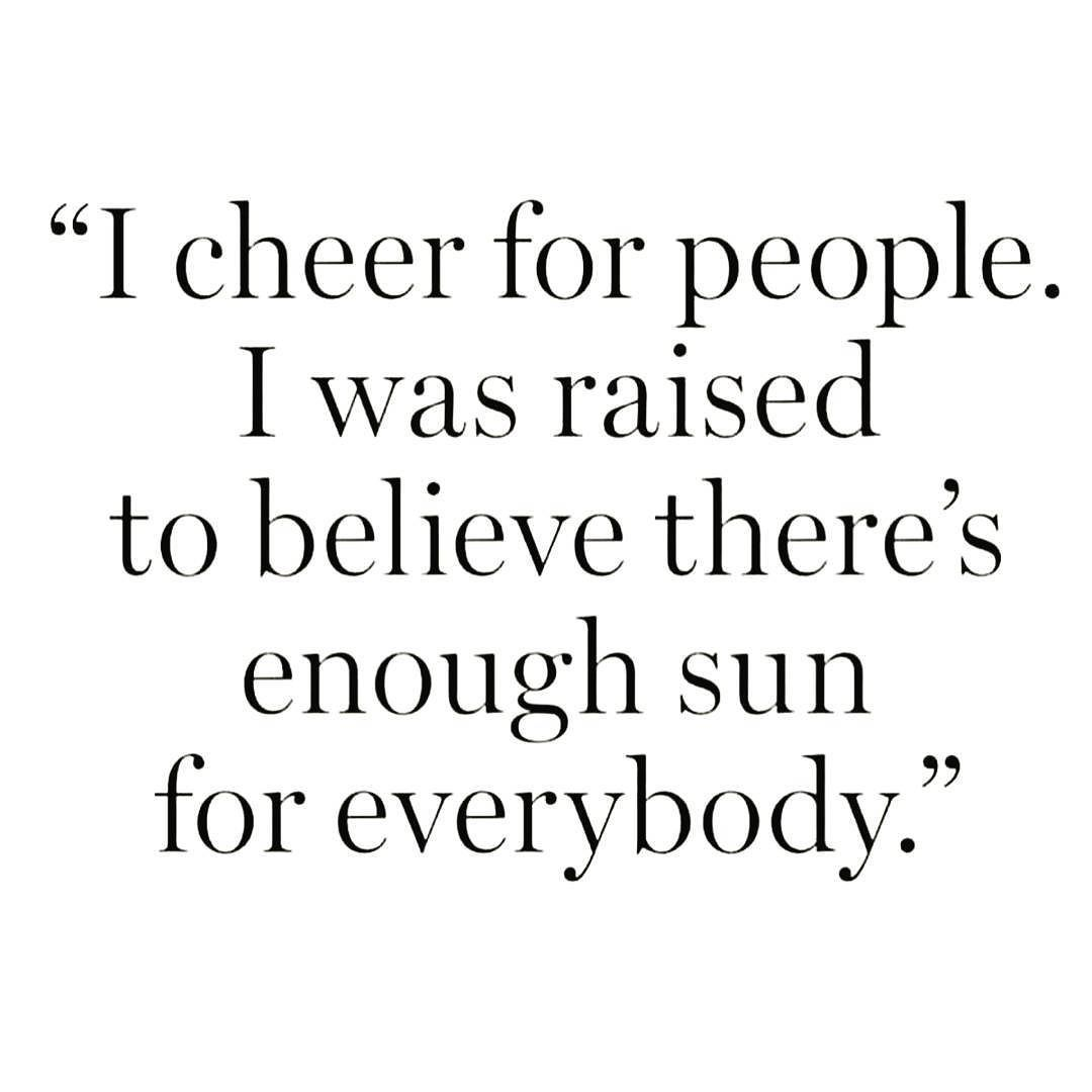 We rise by the lifting of others.  It is an incredible feeling to truly find joy in celebrating others.  #LoveAboveAll