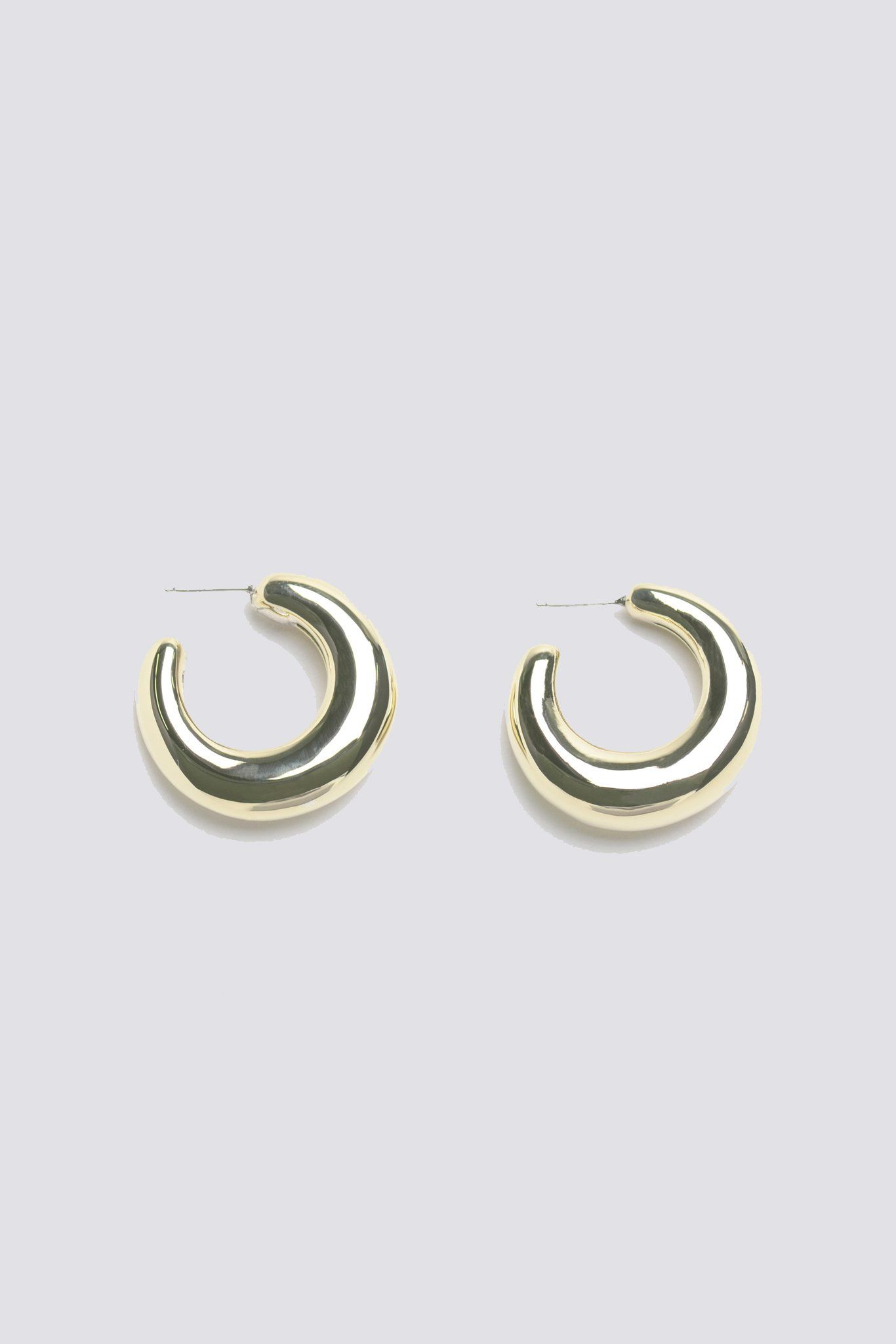 c99ad2985 Two-Tone Bubble Hoops | Products | Leigh miller, Two tones, Earrings