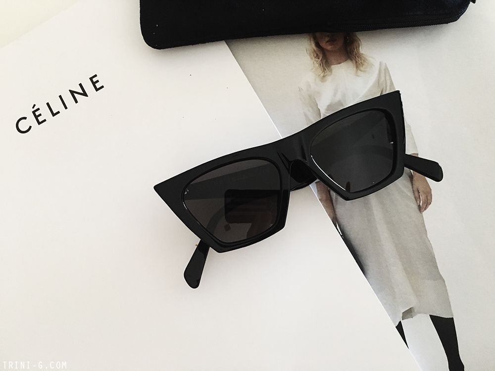 design di qualità 18a3c 1f274 SOMETHING NEW: CELINE EDGE SUNGLASSES | Fashion in 2019 ...