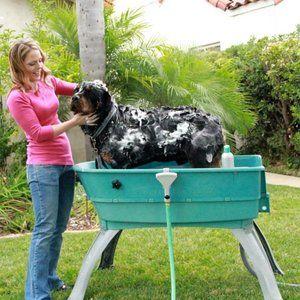 portablepet booster bath dog wash large pet dog dog wash dog washing station dog bath tub. Black Bedroom Furniture Sets. Home Design Ideas