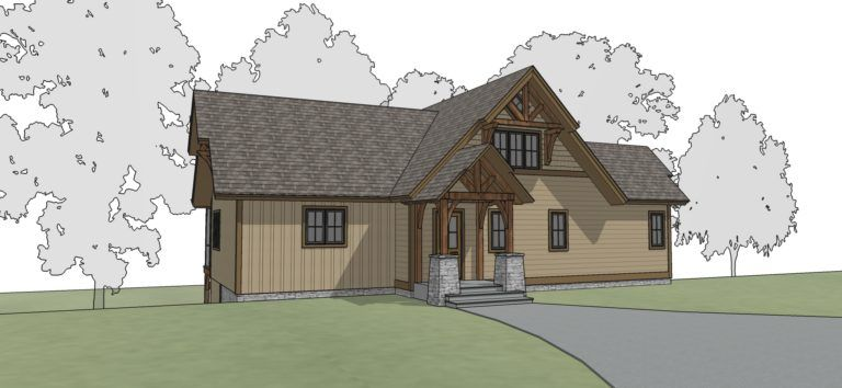 Brookhollow Timber Frame Floor Plan By Mill Creek
