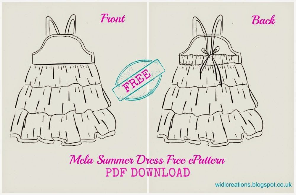 Summer dress free pattern 2T - 8T | how to | Pinterest | Ropa para ...