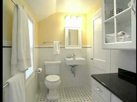 How To Design & Remodel A Small Bathroom  75 Year Old Home Best Redoing A Small Bathroom Design Ideas