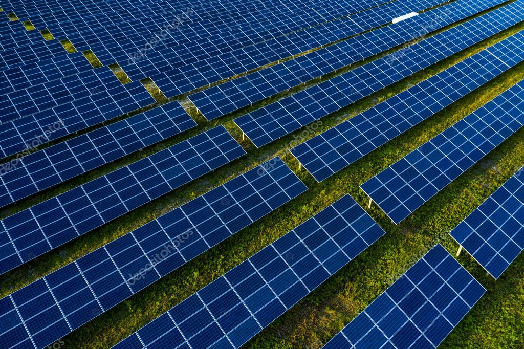 Aerial View Of Solar Panels Field Stock Photo Affiliate Solar View Aerial Panels Ad Aerial View Solar Panels Aerial