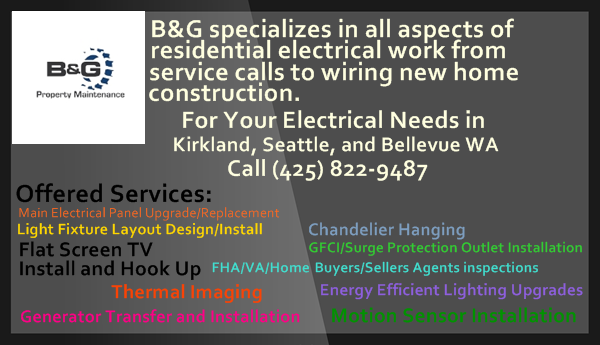 Pin By B G Property Maintenance On Quality Electrical Services Seattle Electricians Residential Electrical Electrical Work House Wiring