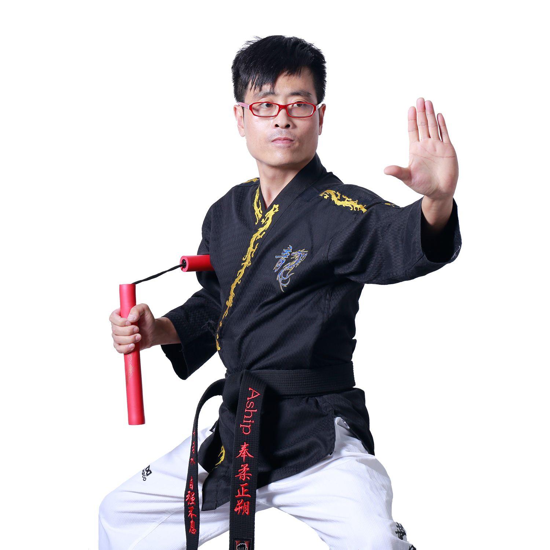Aship 28cm Stick Length Safe Foam Martial Arts Sticks Jeet Kune Do Sticks Karate Sticks Two Short Sticks Chain Sticks Martial Arts Store Martial Arts Bruce Lee