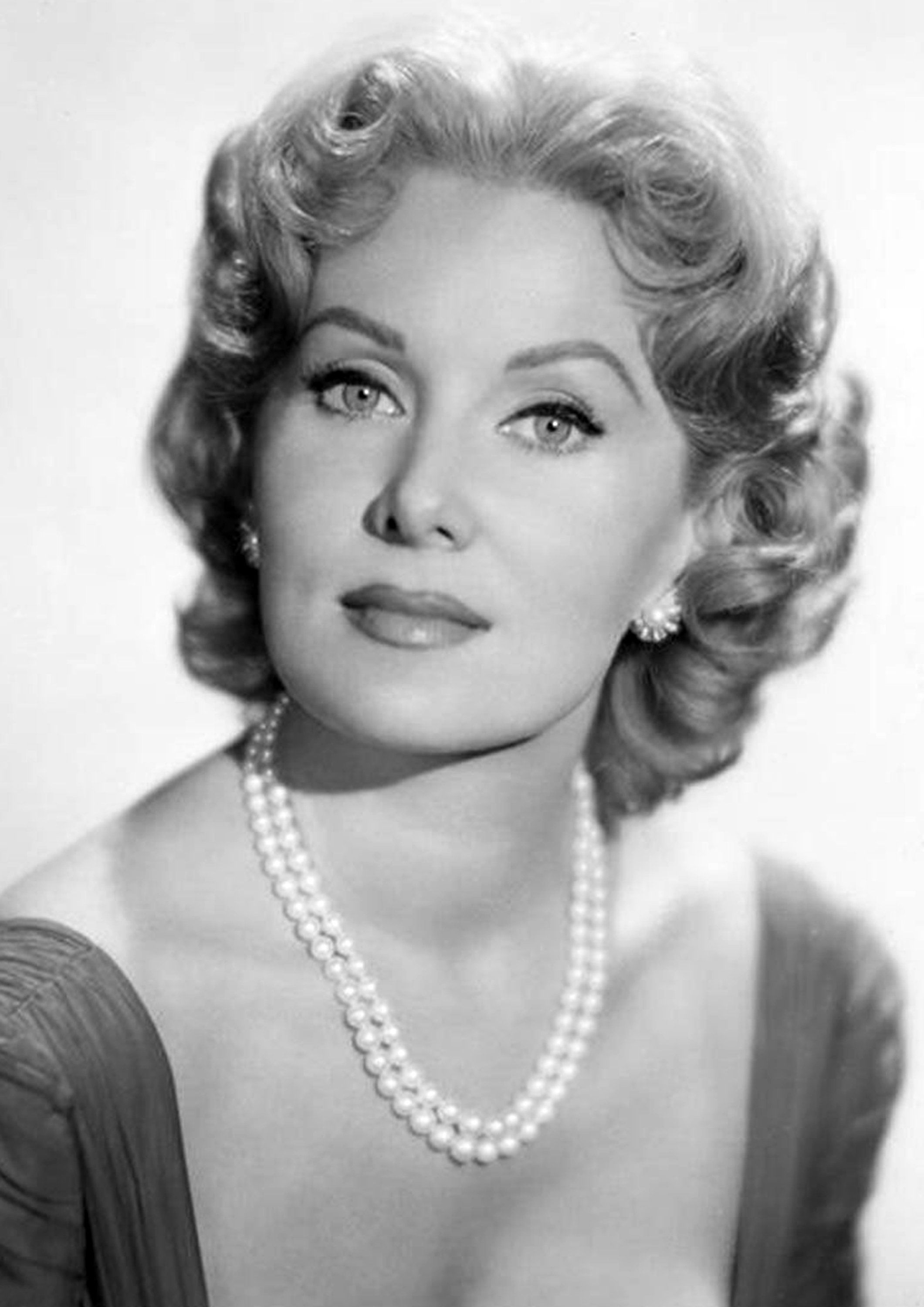 Items similar to Rhonda Fleming Monochrome Photographic Print 13 (A4 Size - 210mm x 297mm - 8.25 x 11.75) Ideal For Framing on Etsy