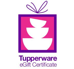 Tupperware e gift certificates treat someone special to their cant decide which tupperware products to send someone on your list give them a tupperware e gift certificate yadclub Gallery