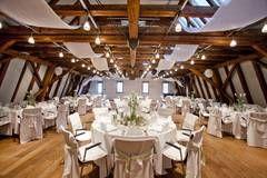 Bankettsaal Buhlsche Muhle Hochzeitslocation Karlsruhe Hochzeit Tischdekorartion Hochzeitslocation