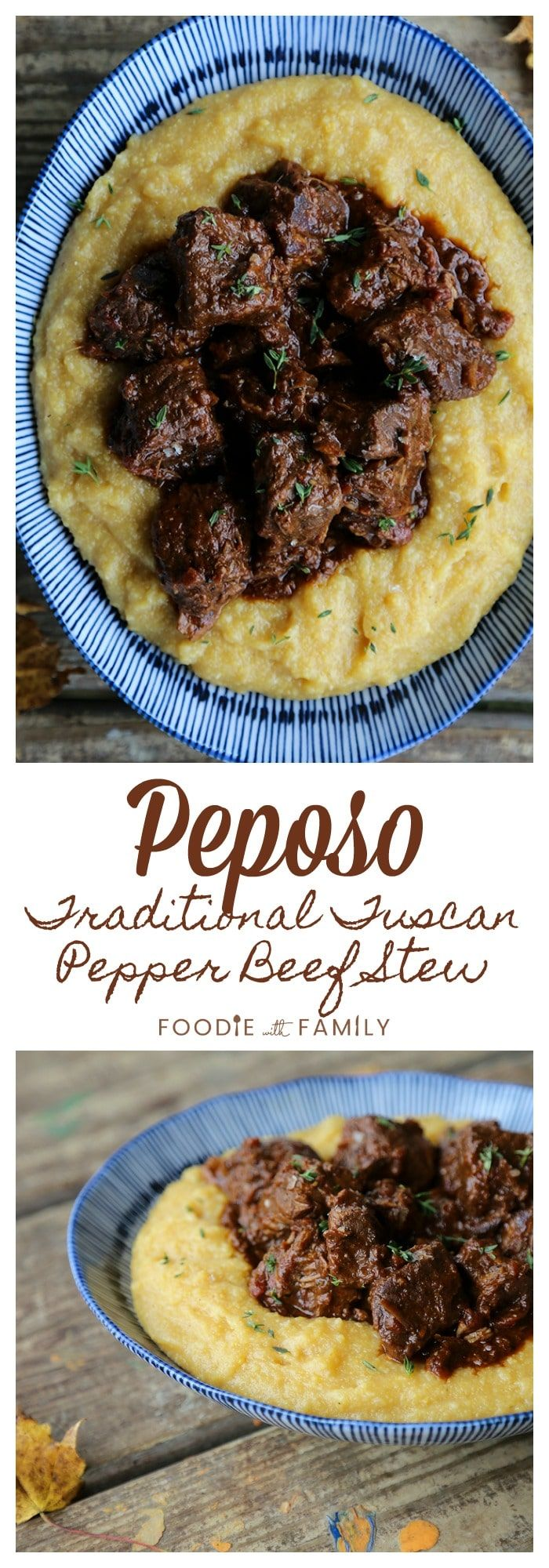Photo of Traditional Tuscan Peposo – Peppered Beef Stew.