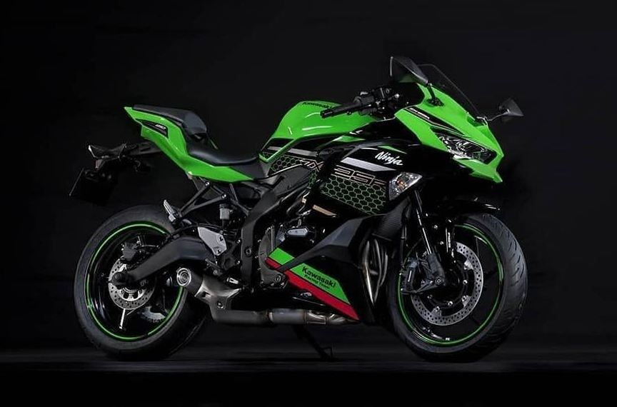 Kawasaki Ninja ZX25R has been unveiled in the ongoing