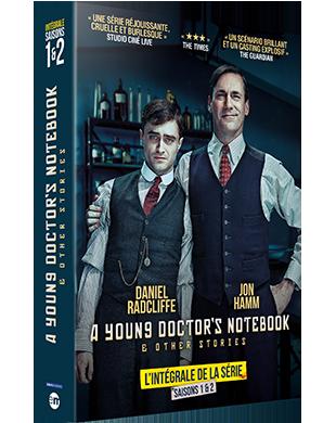 Concours Gagnez L Integrale De La Serie A Young Doctor S Notebook Sur La Base Des Histoires Courtes Et Semi Autob Daniel Radcliffe Humour Noir Les Saisons