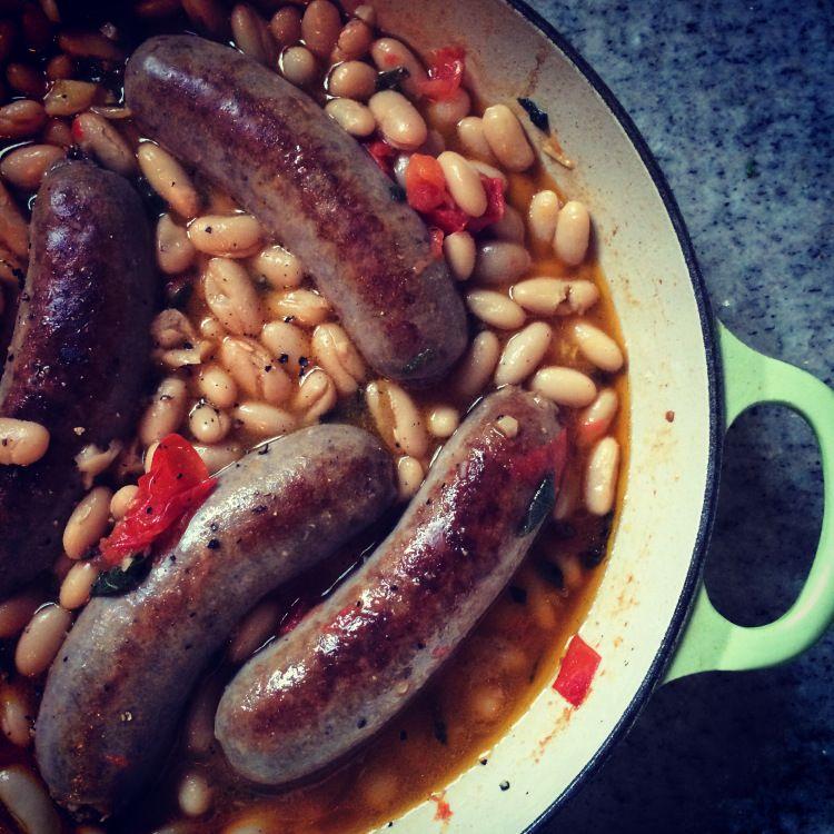 Seasoned to Taste: Tuscan White Beans and Sausage