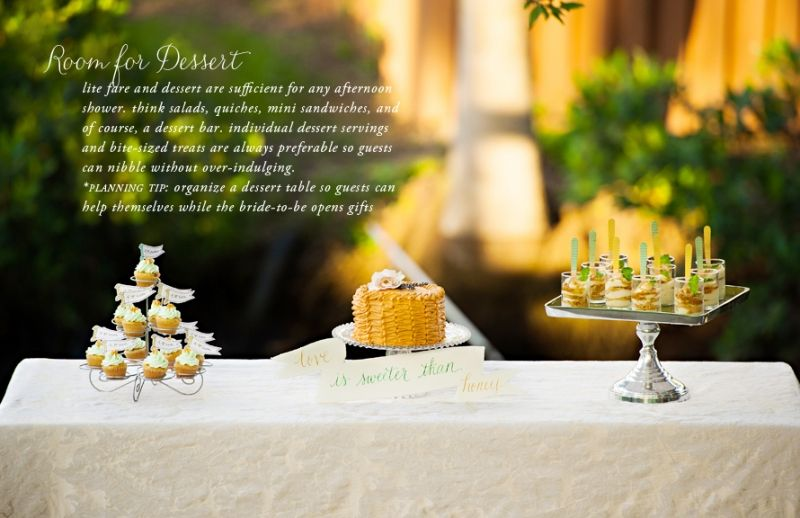 Wedding Week: Backyard Bridal Shower #theeverygirl