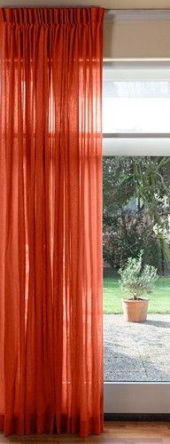 Inbetween gordijnen Vision-Zacht oranje | uitvaartideeën | Pinterest