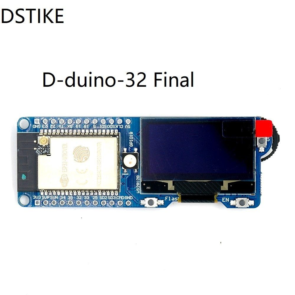 D-Duino-32 Sd Final Pre-Flashed Wifi Packet Monitor Esp32