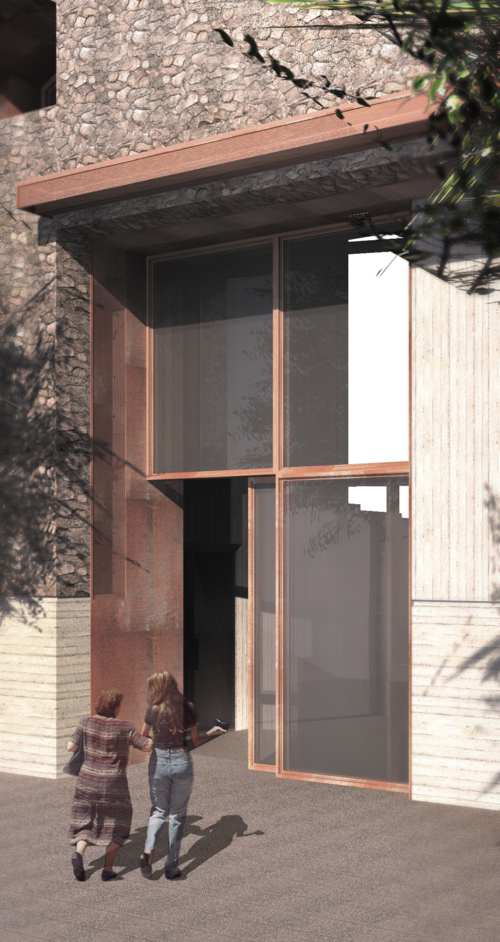 Entrance -  Oliver Justice #Marseille #Urban Design #Architecture
