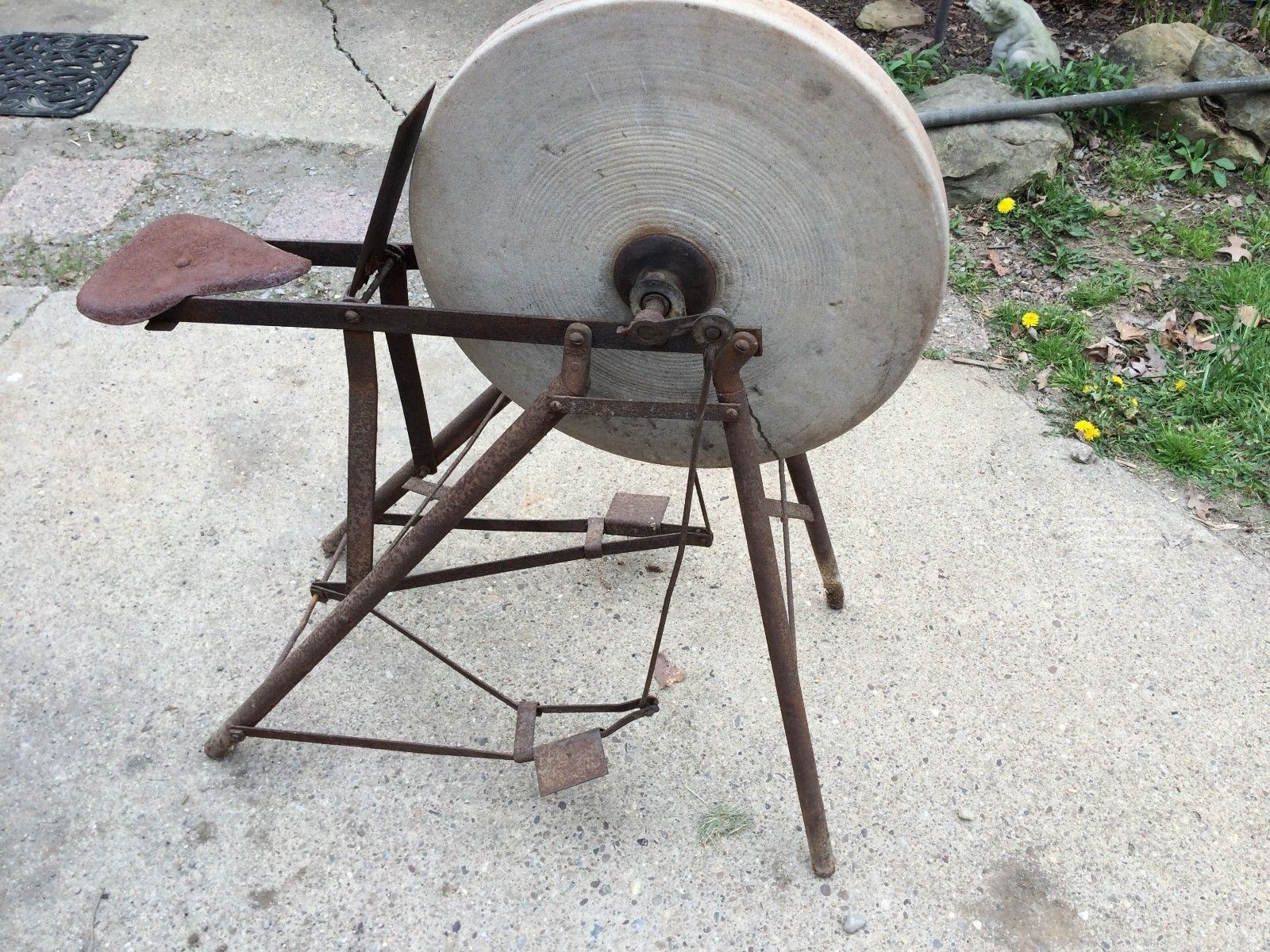 how to make a sandstone grinding wheel