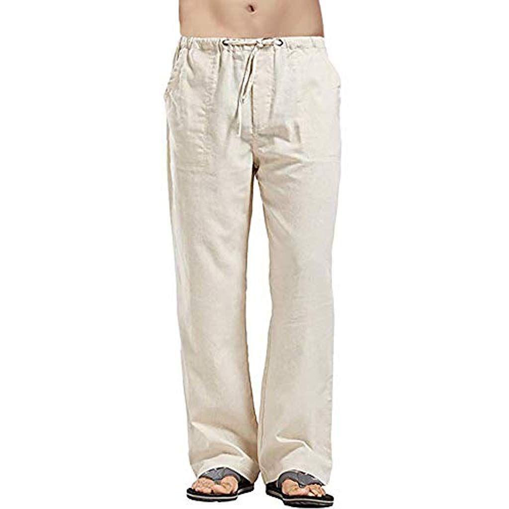 Pantalons pour Hommes Sport Sweatpants Shorts Sarouels /Élasticit/é Elev/ée Jogging Pantalon Dentra/înement Pantalon Sport D/écontract/é