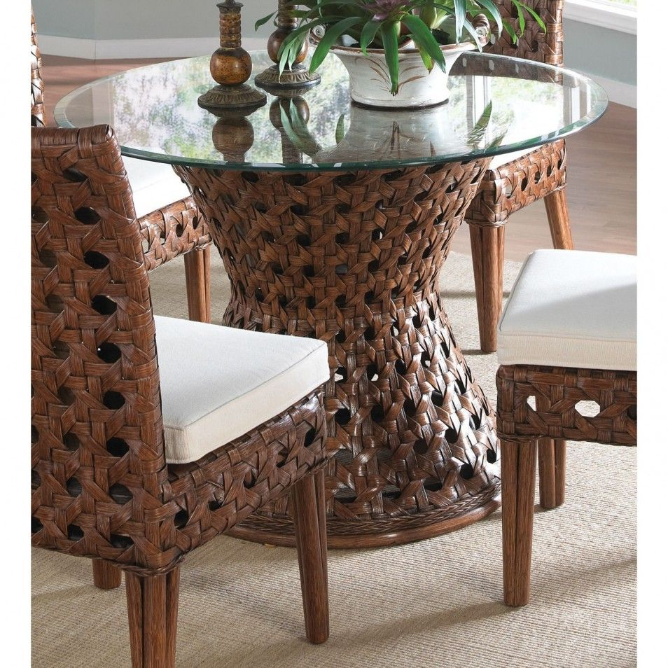 Wicker Dining Table Bases Room Ideas