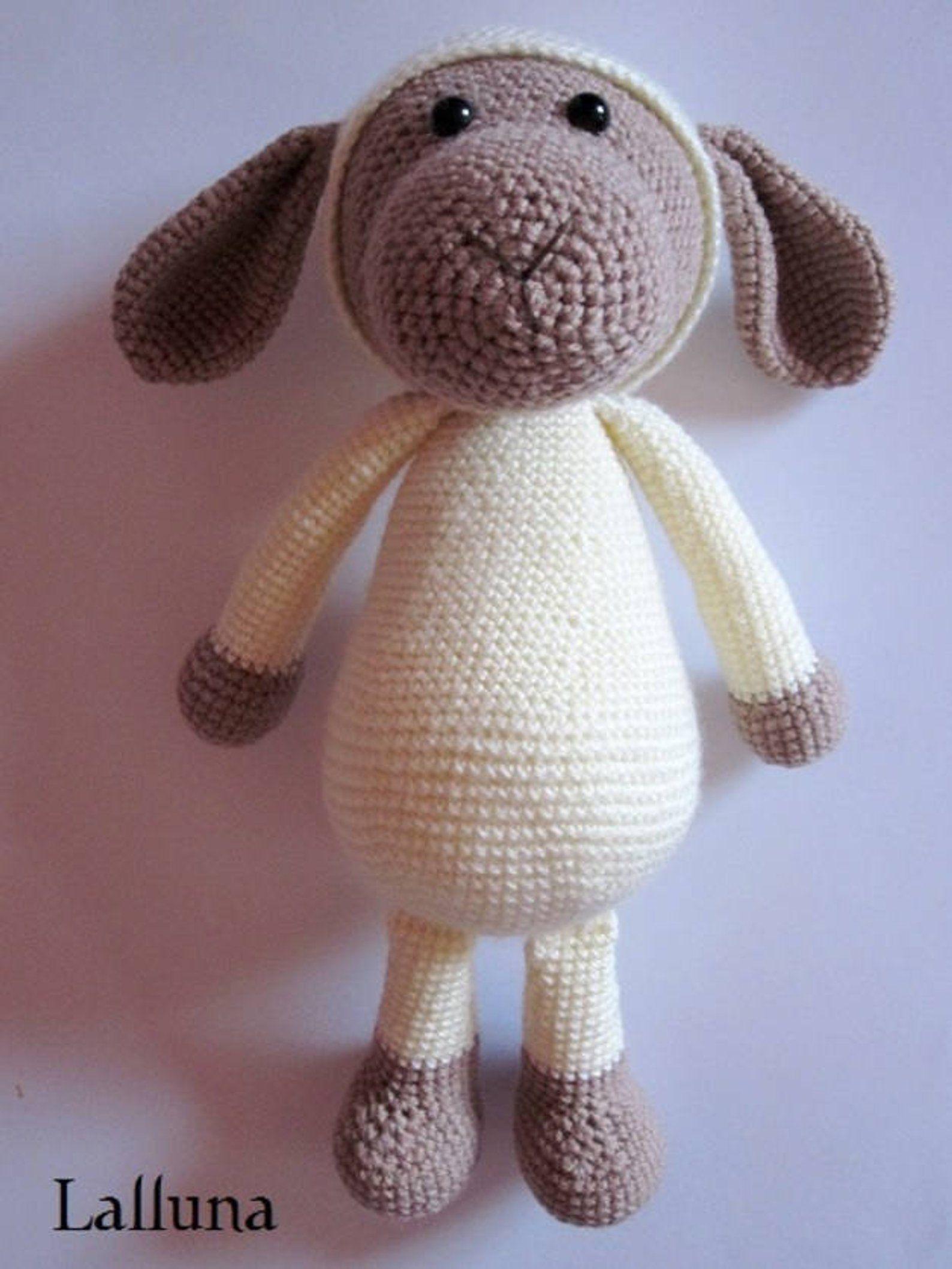 Crochet Manual E Book Amigurumi Xxl Sheep Soul Roaster Tiere