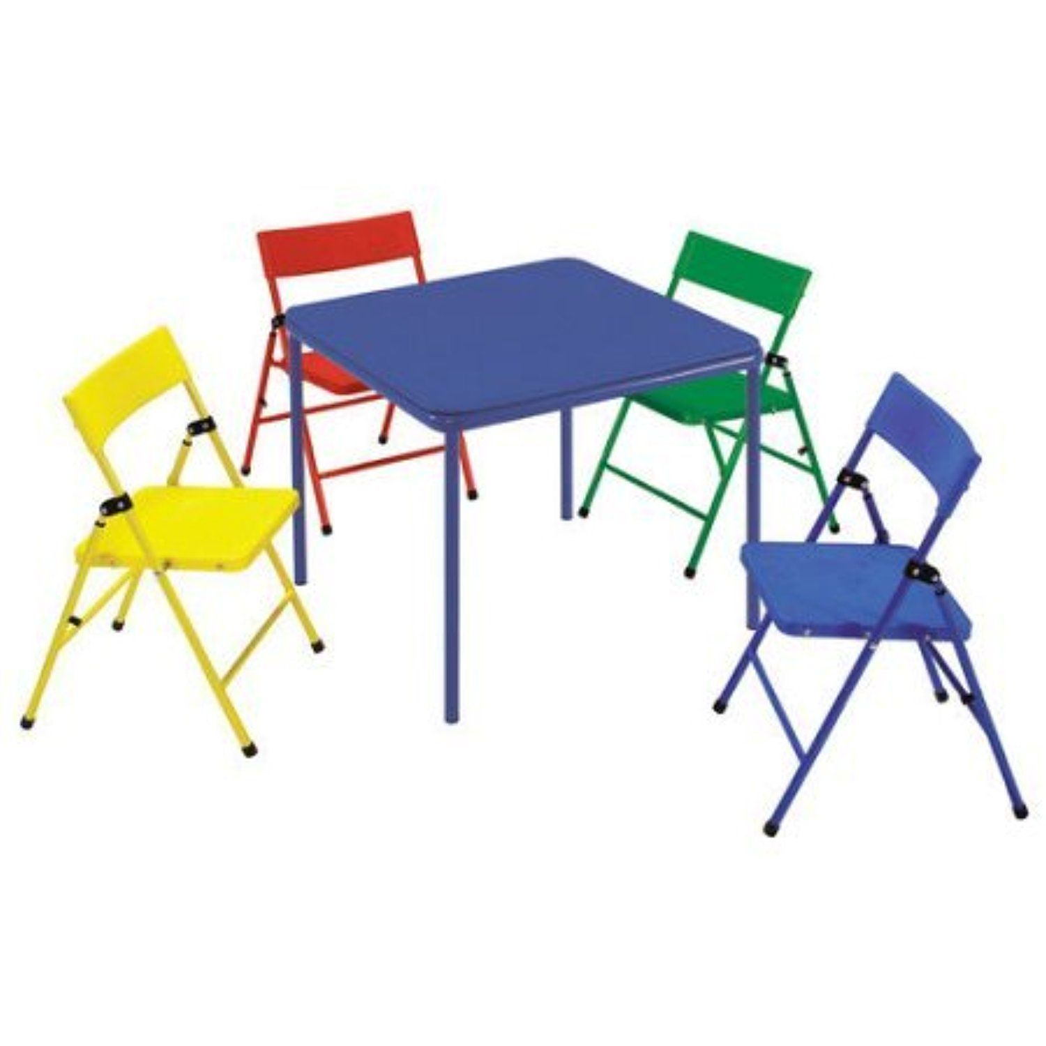 Cosco Kid s 5 Piece Folding Chair and Table Set Awesome