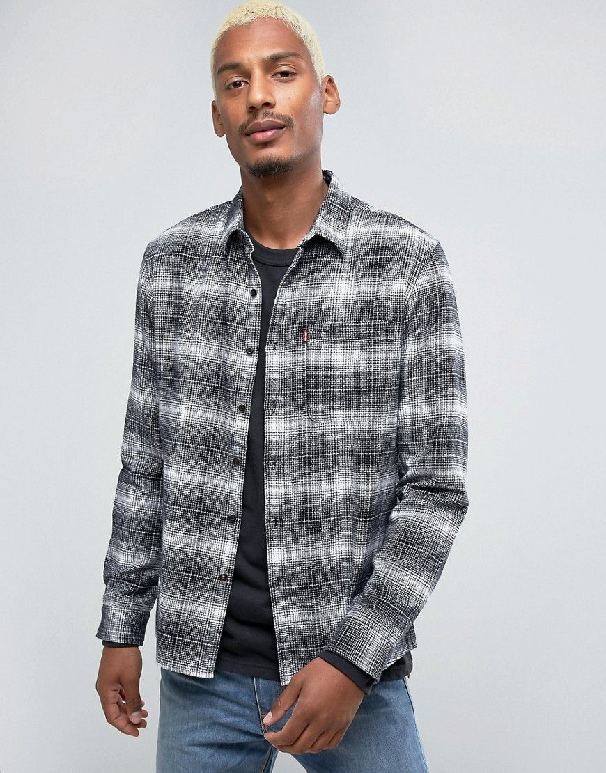 a55998e4a9 Get this LEVIS SKATEBOARDING s plaid shirt now! Click for more details.  Worldwide shipping.