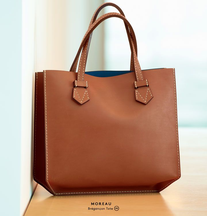 A Historic French Leather Goods Company Gets New Life Introducing Moreau