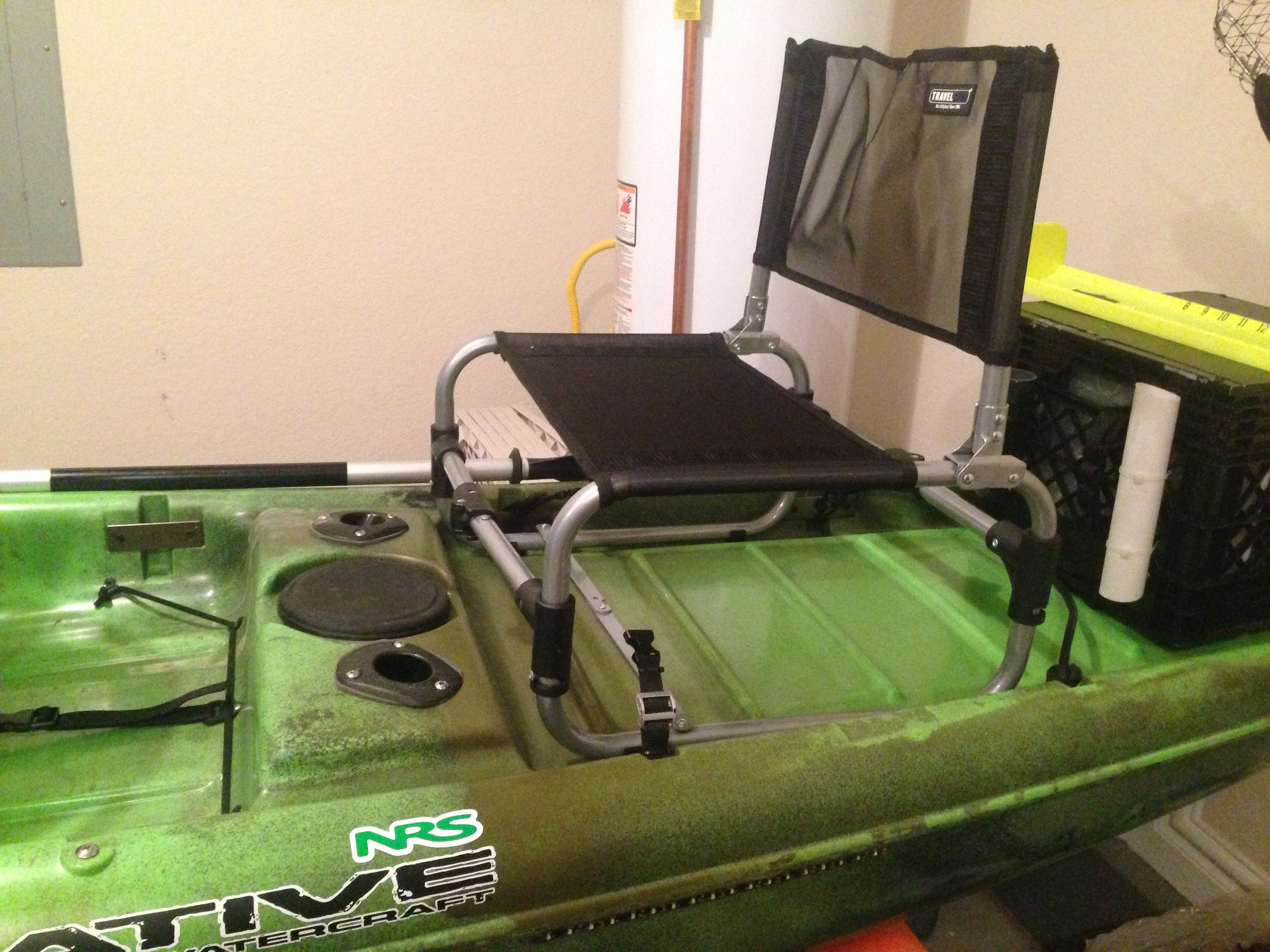 larry chair kayak high toy for my son to join me on native watercraft mariner propel fishing