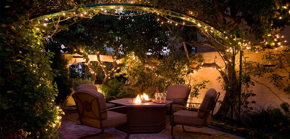 Outdoor Lighting Ideas You Can Use Backyard Backyard Lighting