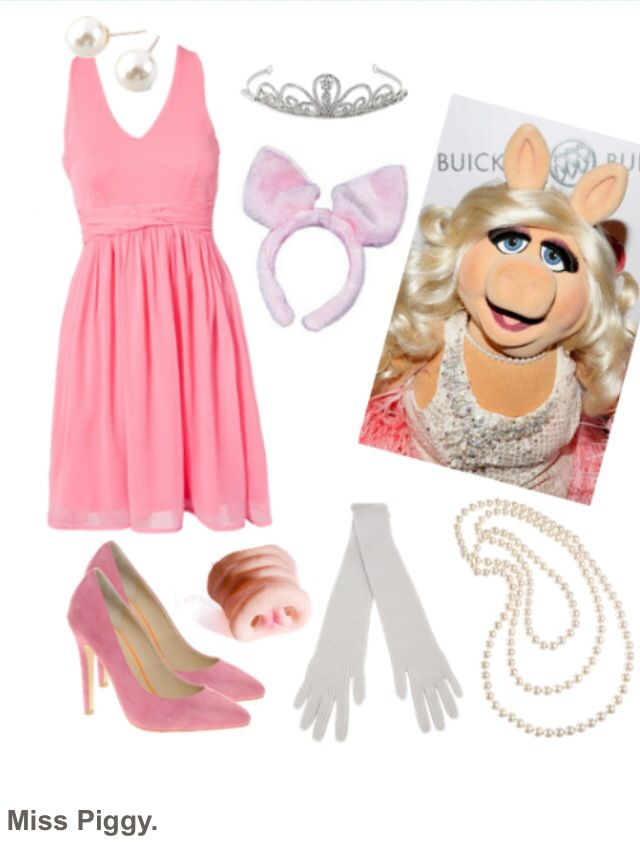 miss piggy costume fasching karneval kinderschminken. Black Bedroom Furniture Sets. Home Design Ideas