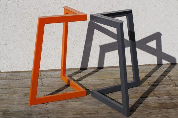 Stahltisch pulverbeschichtet Beine Beine Esstisch