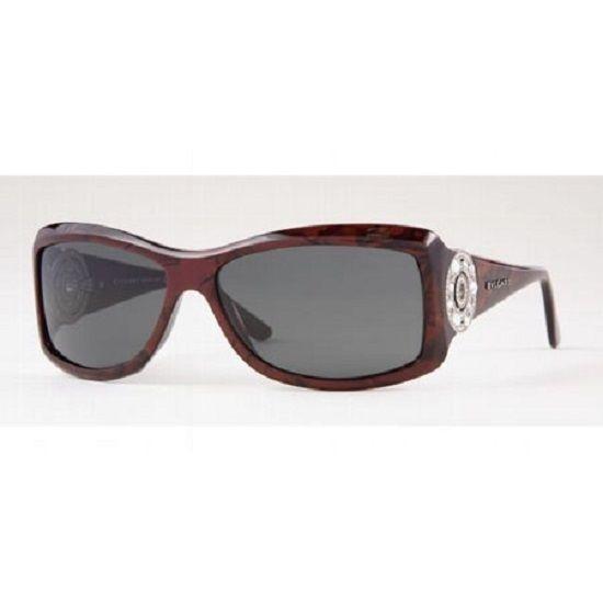 656e3c48117 Bvlgari-Sunglasses-8007b-New-600 euros -Brown-With-Case-Womens-Crystals-New   Bvlgari